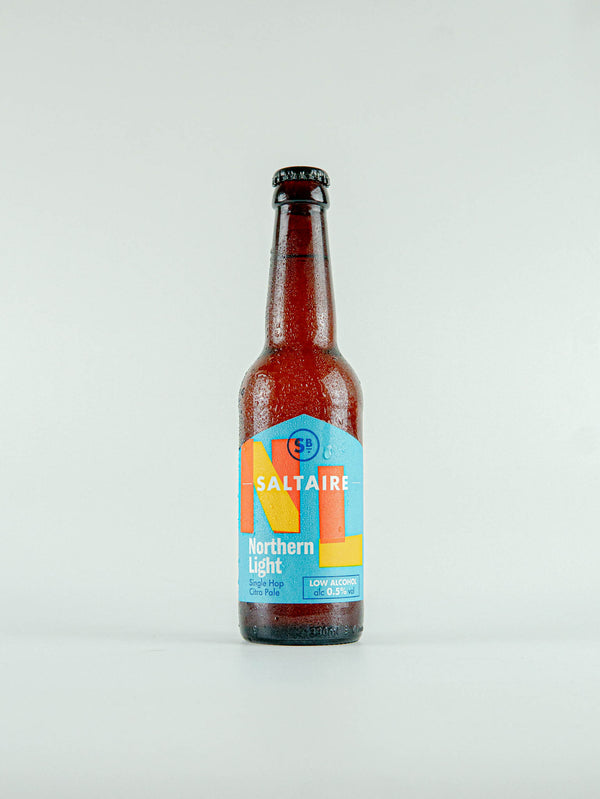 Saltaire Brewery Northern Light Single Hop Citra Pale 0.5% - 330ml