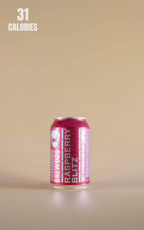 BrewDog Raspberry Blitz Alcohol Free 0.5% - 330ml - LightDrinks