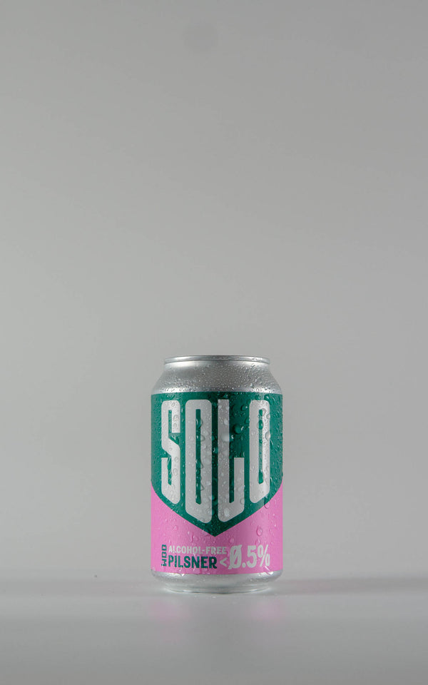 West Berkshire Brewery Solo Alcohol Free Pilsner Cans 0.5% - 330ml