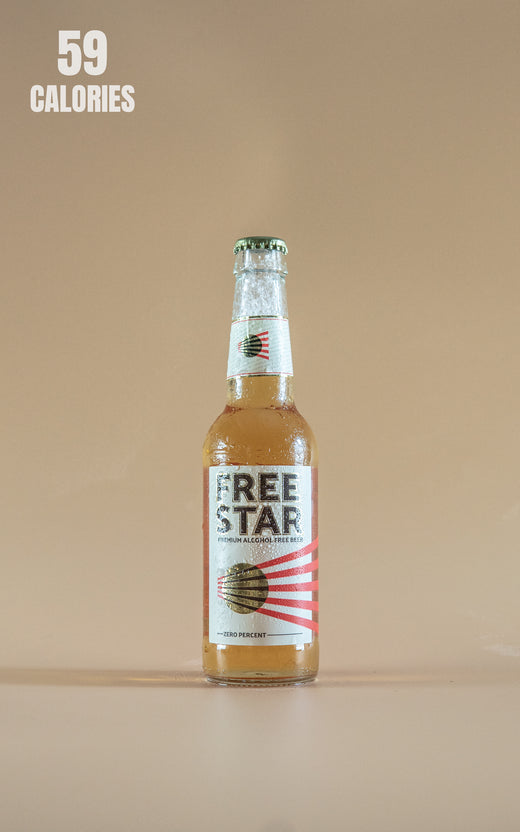 LightDrinks - Freestar Premium Alcohol Free Beer 0% - 330ml