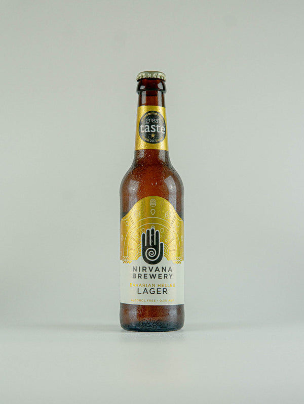Nirvana Brewery Bavarian Helles Lager Alcohol Free 0.3% - 330ml