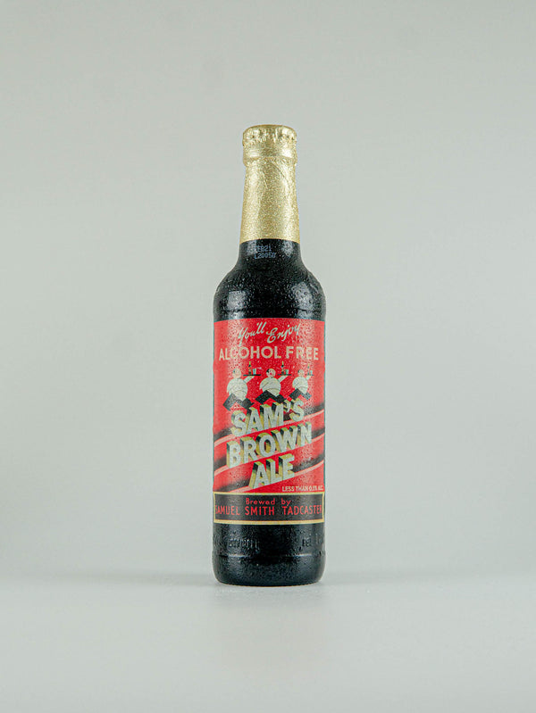 Samuel Smith's Brewery Sam's Brown Ale Alcohol Free 0.5% - 355ml