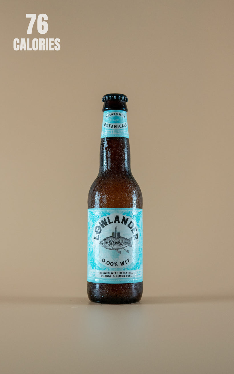 LightDrinks - Lowlander Wit 0.0 Alcohol Free Beer 0.00% - 330ml
