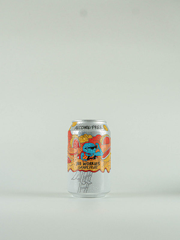 Lervig No Worries Grapefruit Alcohol Free IPA 0.5% - 330ml