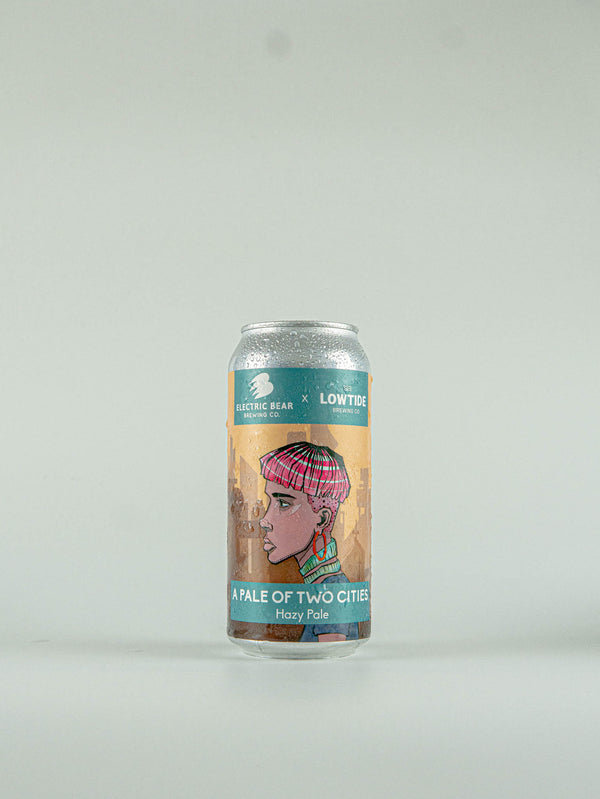 Lowtide Brewing Co A Pale of Two Cities Alcohol Free Hazy Pale 0.5% - 440ml