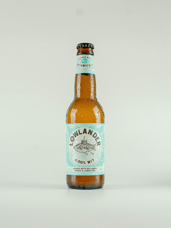Lowlander Wit 0.0 Alcohol Free Beer 0.00% - 330ml