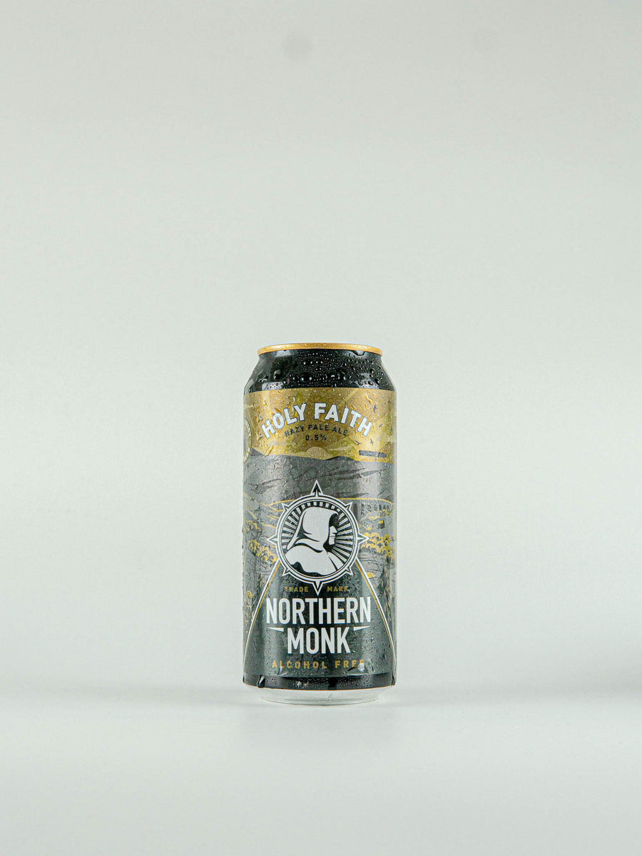Northern Monk Holy Faith Alcohol Free Hazy Pale Ale 0.5% - 440ml