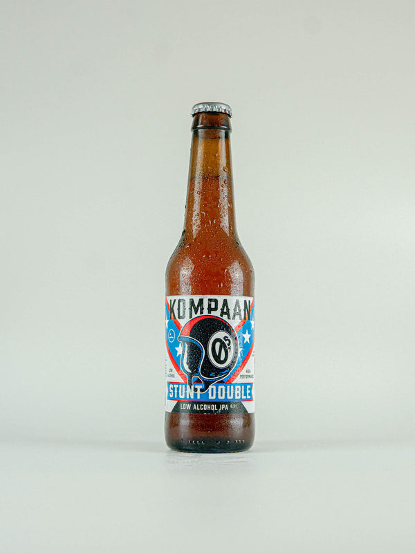 Kompaan Stunt Double Low Alcohol IPA 0.5% - 330ml