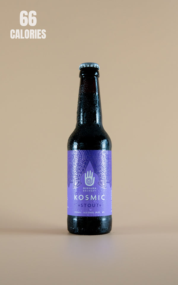 Nirvana Brewery Dark & Rich Stout Alcohol Free Kosmic 0.0% - 330ml - LightDrinks