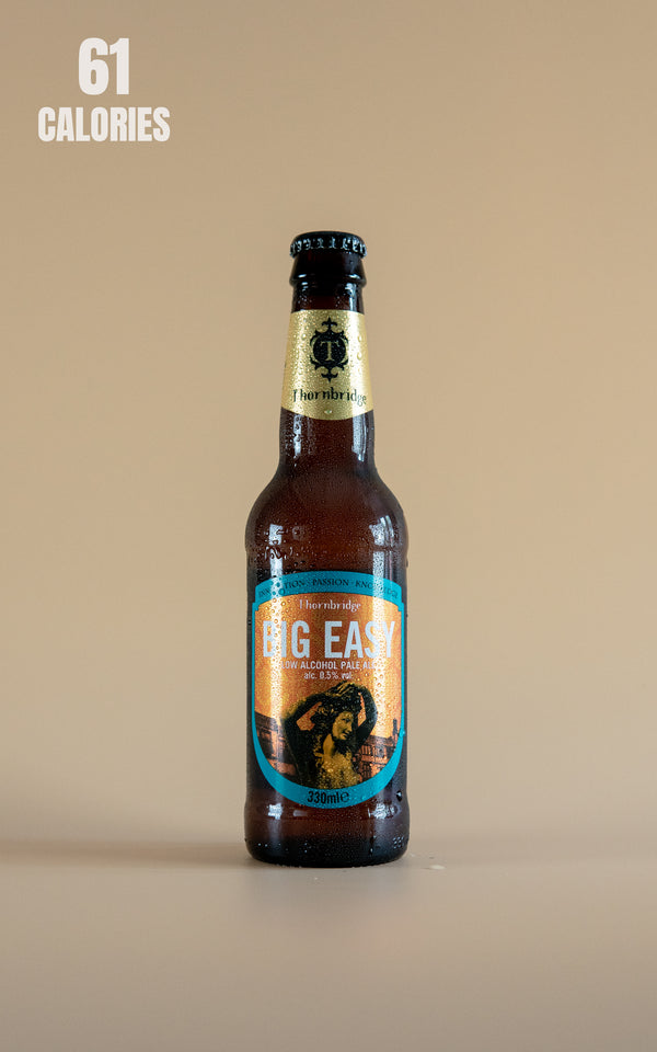 Thornbridge Big Easy Low Alcohol Pale Ale 0.5% - 330ml - LightDrinks