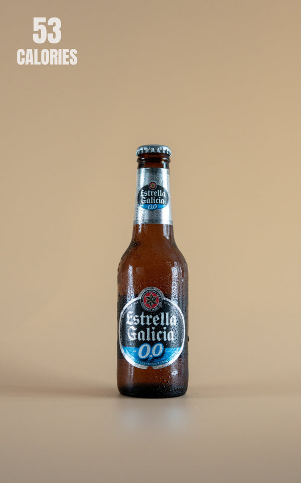 Estrella Galicia Alcohol Free 0.0% - 330ml - LightDrinks