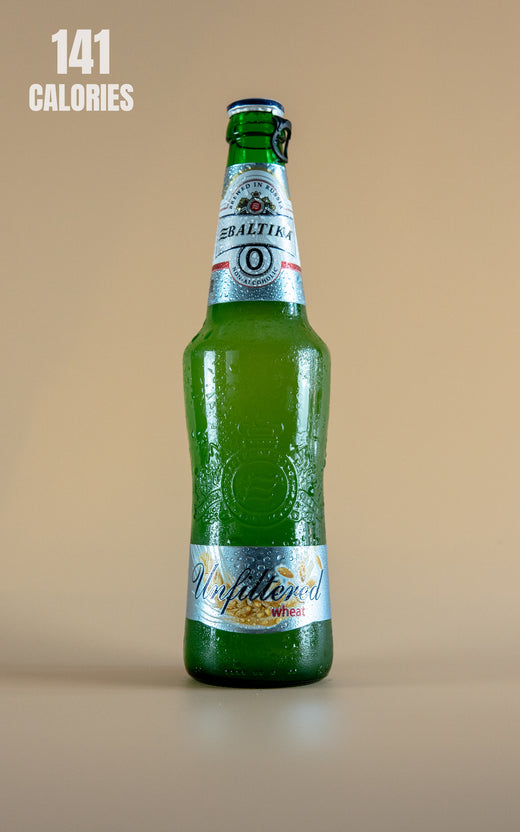 LightDrinks - Baltika Unfiltered Wheat Beer 0.5% - 470ml