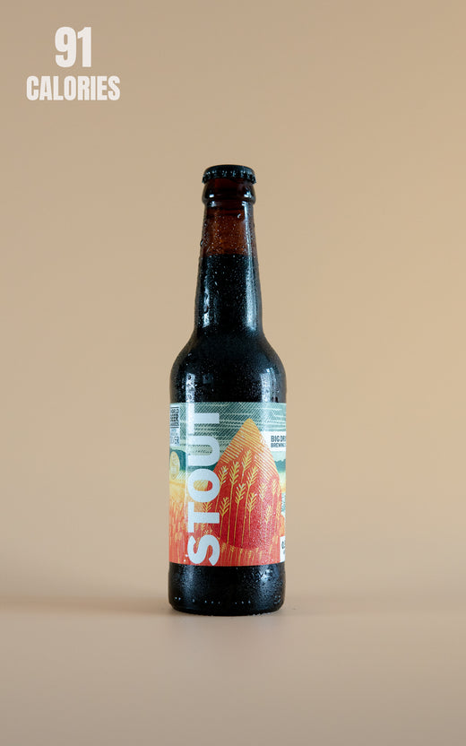 LightDrinks - Big Drop Brew Chocolate Milk Stout 0.5% - 330ml