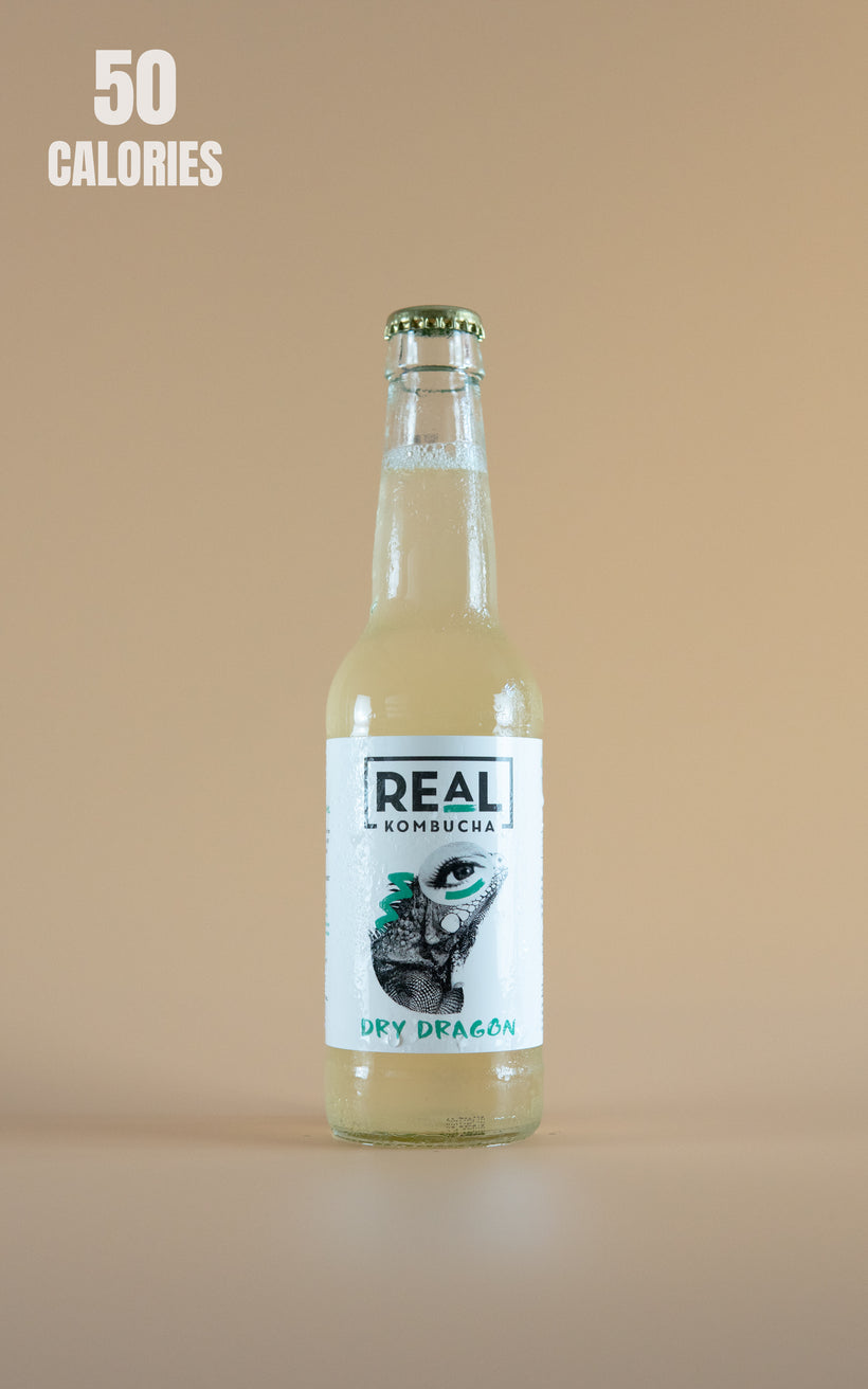 LightDrinks - Real Kombucha Dry Dragon - 330ml