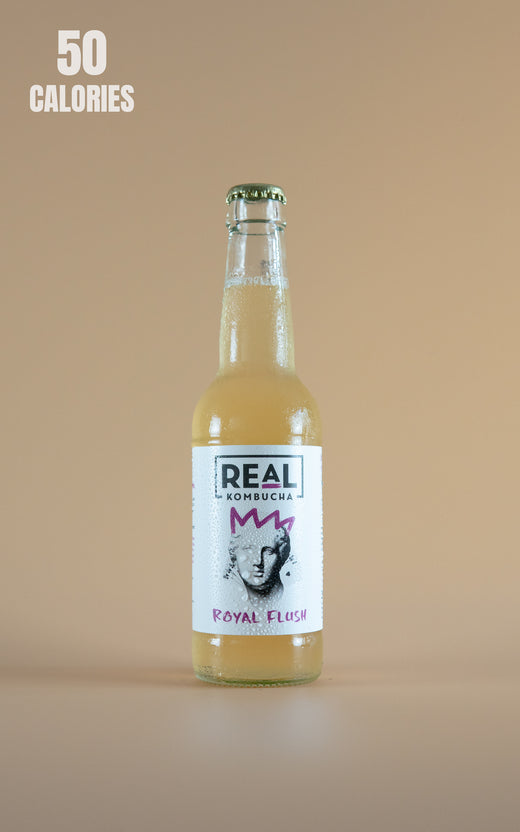 LightDrinks - Real Kombucha Royal Flush - 275ml