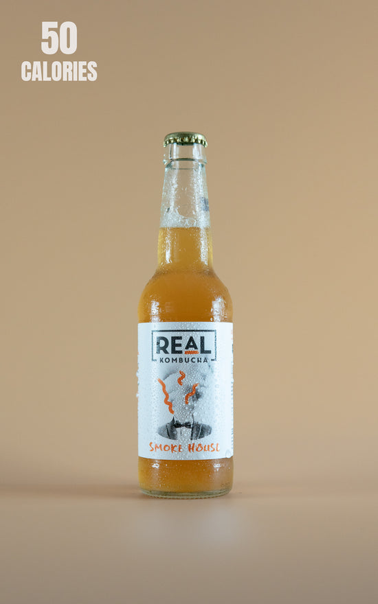 LightDrinks - Real Kombucha Smoke House - 330ml