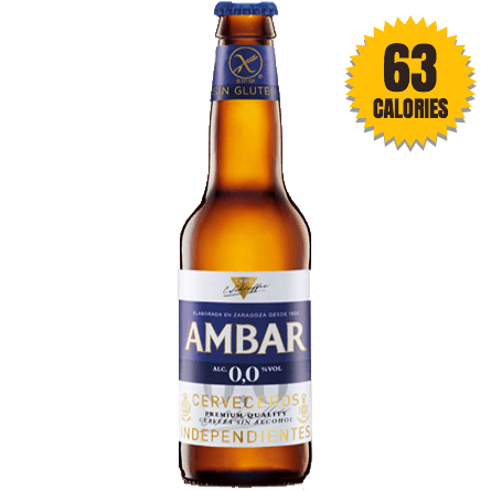 LightDrinks - Ambar Alcohol Free Gluten-Free Beer 0.0% - 330ml