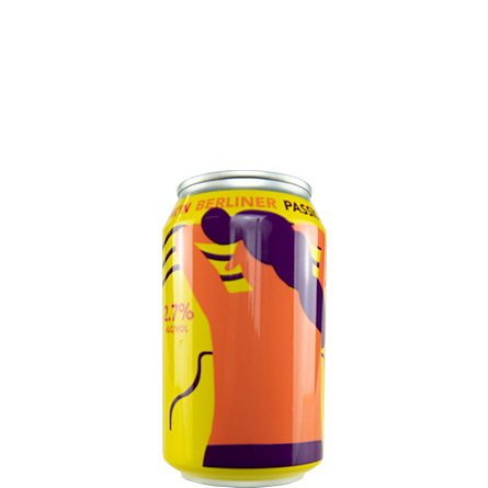 LightDrinks - Mikkeller Drink'in Berliner Passionfruit Cans 2.7% - 330ml