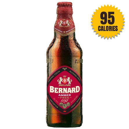LightDrinks - Bernard Free Amber Alcohol Free Beer 0.5% - 500ml