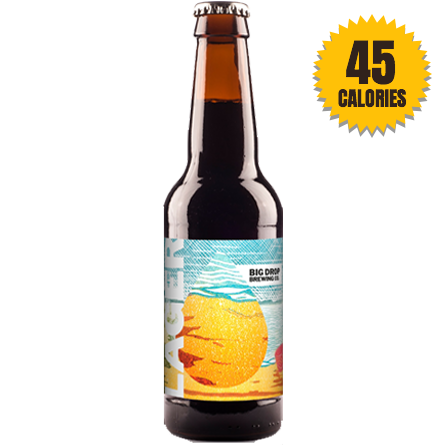 LightDrinks - Big Drop Brew Lager 0.5% - 330ml