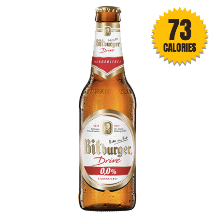 Bitburger Drive Alcohol Free 0.0% - 330ml | LightDrinks ...