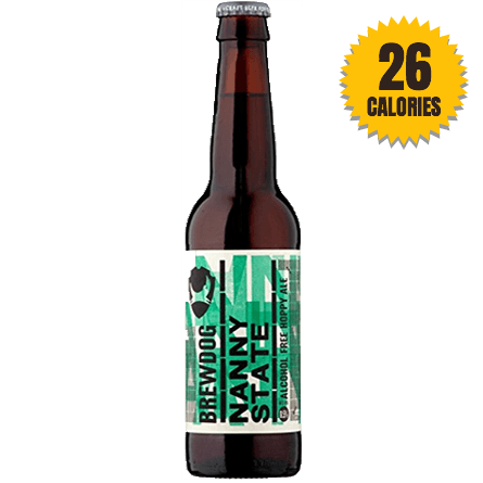 LightDrinks - BrewDog Nanny State 0.5% - 330ml