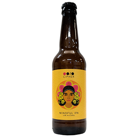 LightDrinks - Cipher Brew Mindful IPA 0.5% - 330ml