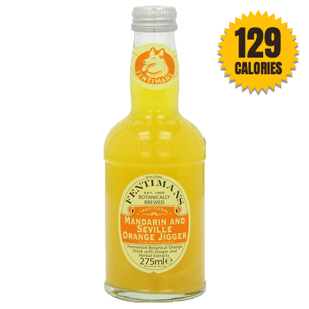 LightDrinks - Fentimans Mandarin And Seville Orange Jigger - 275ml
