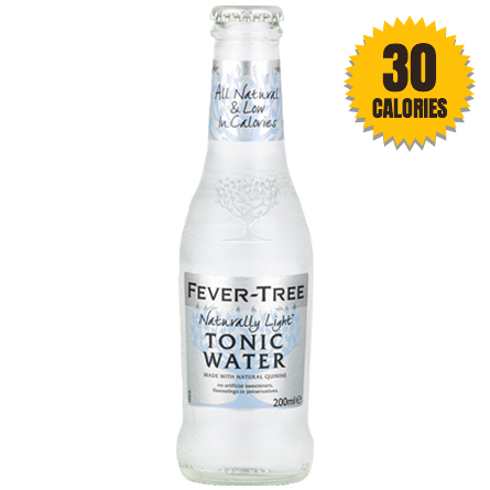 Fever Tree Naturally Light Tonic Water Ml