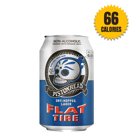 Pistonhead Flat Tire Dry Hopped Lager Non Alcoholic