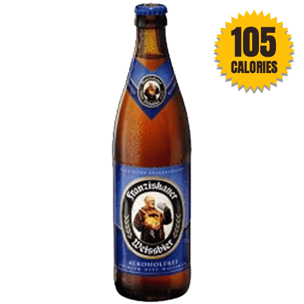 LightDrinks - Franziskaner Weissbier Non Alcoholic 0.5% - 500ml