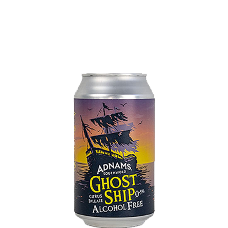 LightDrinks - Adnams Ghost Ship Alcohol Free 0.5% - 330ml