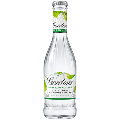 Gordon's Ultra Low Alcohol Gin & Tonic Lime 0.5% - 250ml
