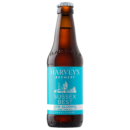 LightDrinks - Harveys Brewery Sussex Best Low Alcohol 0.5% - 275ml