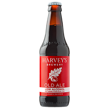 LightDrinks - Harveys Brewery Old Ale Low Alcohol 0.5% - 275ml