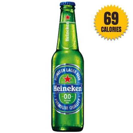 LightDrinks - Heineken Alcohol Free 0.0% Lager Beer - 330ml