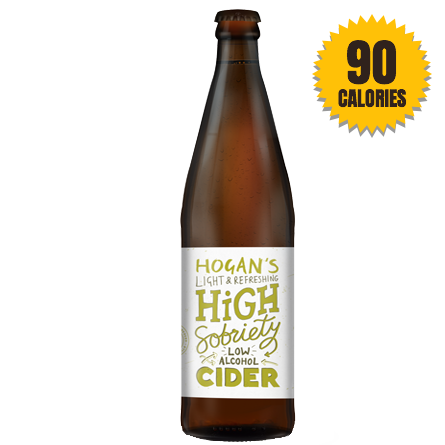 Hogan's High Sobriety Low Alcohol Cider 1% - 500ml