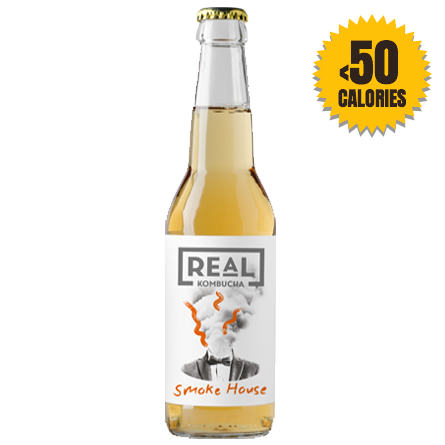 LightDrinks - 12 x Real Kombucha Smoke House - 330ml