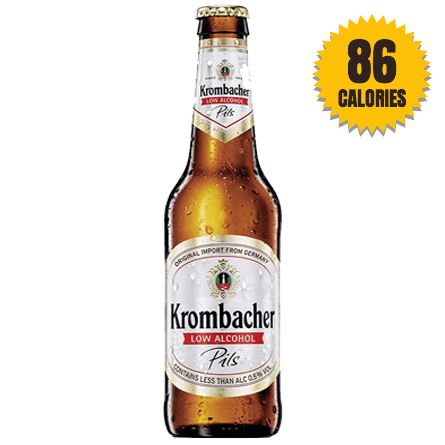 LightDrinks - Krombacher Pilsner 0.5% - 330ml