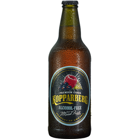 LightDrinks - Kopparberg Mixed Fruits Alcohol Free Cider - 500ml