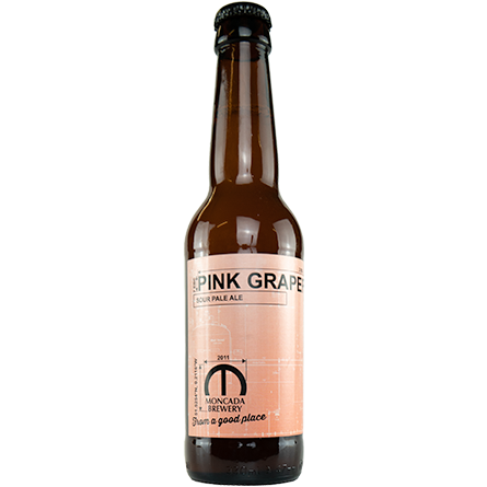 LightDrinks - Moncada Brewery Pink Grapefruit Sour Pale Ale 2.7% - 330ml