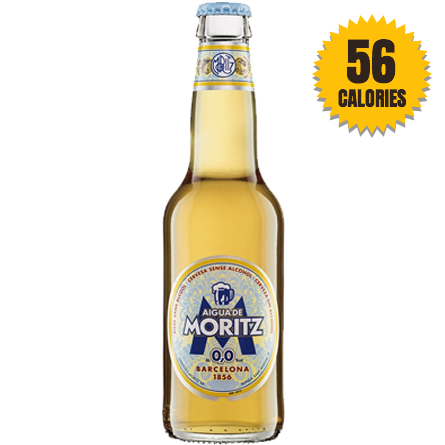 LightDrinks - Aigua de Moritz Alcohol Free Beer 0.0% - 330ml