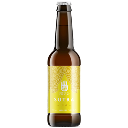 Nirvana Brewery Sutra Alcohol Free 0.5% - 330ml