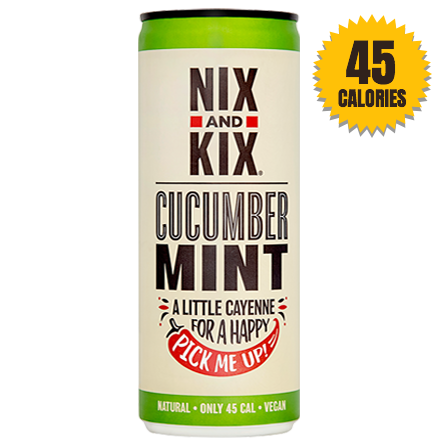 LightDrinks - Nix & Kix Cucumber and Mint - 250ml
