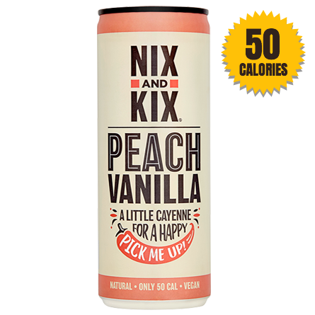LightDrinks - Nix & Kix Peach and Vanilla - 250ml