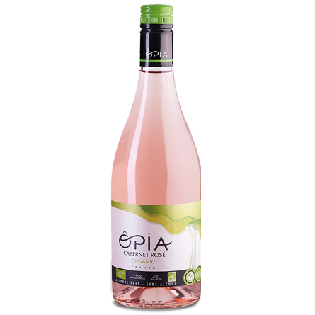 LightDrinks - ÔPIA Organic Alcohol Free Cabernet Rosé - 750ml