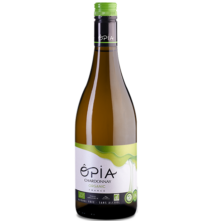 LightDrinks - ÔPIA Organic Alcohol Free Chardonnay - 750ml