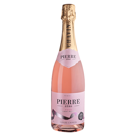 LightDrinks - Pierre Chavin Zero Sparkling Rose Alcohol Free 0% - 750ml