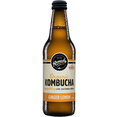 LightDrinks - Remedy Kombucha Ginger Lemon - 330ml