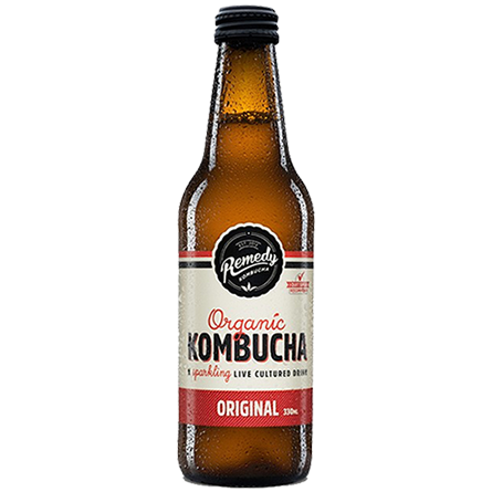 LightDrinks - Remedy Kombucha Original - 330ml